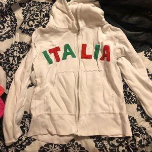 White Italia Sweater